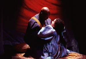 Not from my 2003 production of Othello, alas. But a striking image none the less.
