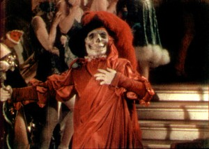 The Phantom of the Opera as the Red Death. Party on, dudes!